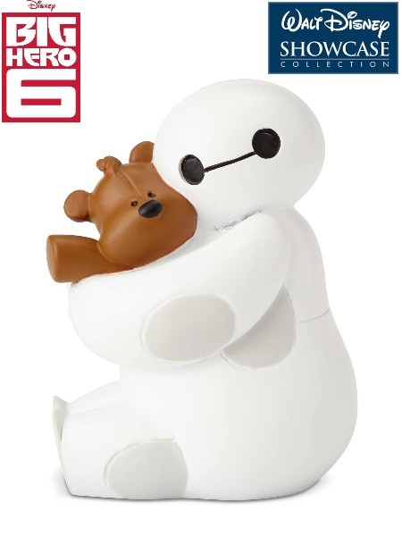 Disney Showcase Big Hero 6 Baymax with Teddy Bear Mini Statue